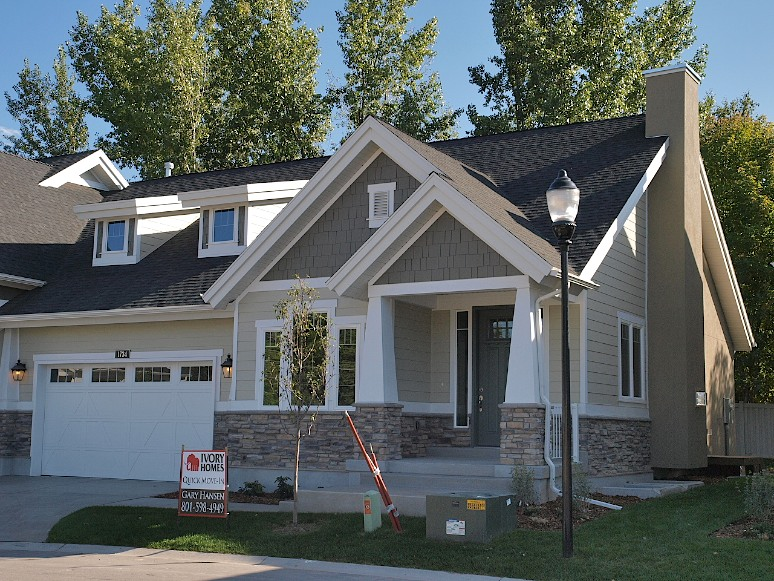 Millcreek Craftsman Home Design For New Homes In Utah